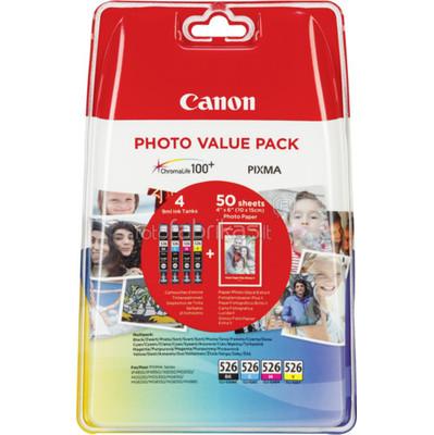 Canon CANON CLI-526 PHOTO VALUE PACK (4540B017)
