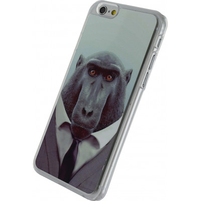 Xccess Metal Plate Cover Apple iPhone 6/6s Chimpanzee
