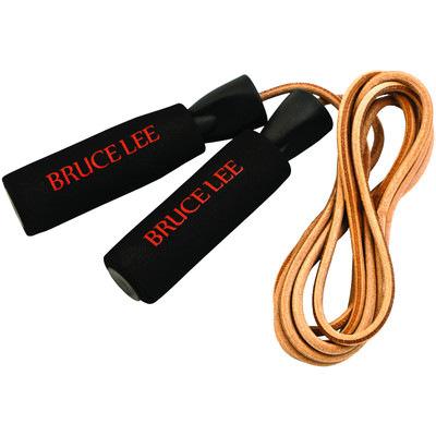 Image of Bruce Lee Dragon Weighted Leather Skipping Rope
