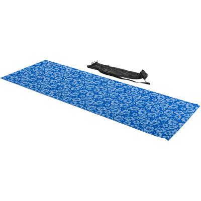 Tunturi Fitnessmat / Yogamat - Met Print - Blauw