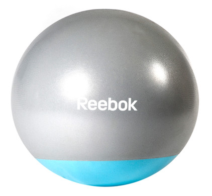 Reebok Womens Training 2-Tone Gymball Blue 55 cm