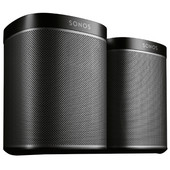 SONOS PLAY:1 Duo Pack Zwart