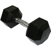 Marcy Rubber Dumbbell 1x 16 kg