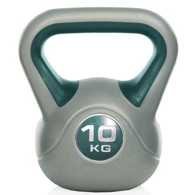 Gymstick Kettlebell - Met DVD - 10 kg - Blauw