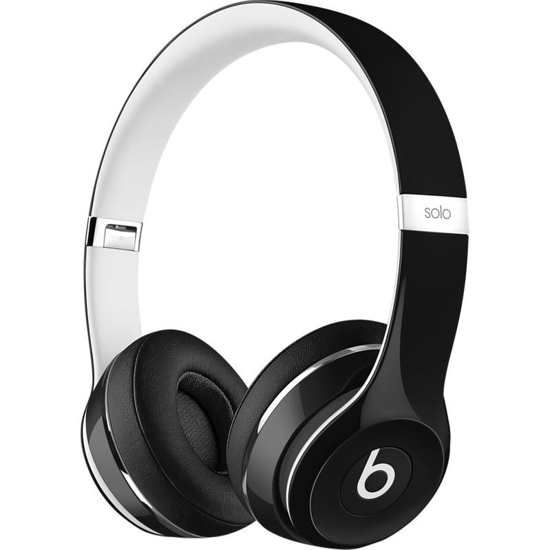 Dagaanbieding: Beats Solo2 On-Ear Headphones Luxe Edition Zwart