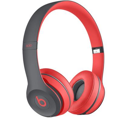 Beats Solo 2 Wireless Rood/Grijs
