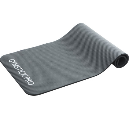 Gymstick Pro - Fitnessmat - 160 x 60 cm - Zwart