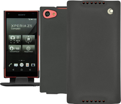 Noreve Tradition Leather Case Sony Xperia Z5 Compact Zwart
