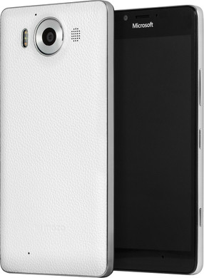 Mozo Back Cover Microsoft Lumia 950 Wit