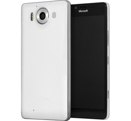 Mozo Back Cover Microsoft Lumia 950 Wit