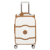 Delsey Châtelet Soft+ 4 Wheel Cabin Trolley Case 55 cm Angora