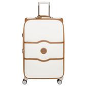 Delsey Châtelet Soft+ 4 Wheel Expandable Trolley Case 75 cm Angora