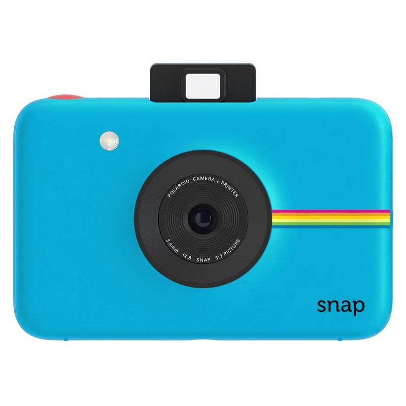 Polaroid Snap Instant Digital Camera Blauw Incl. Film