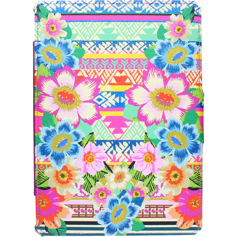 Lazerbuilt Aztec Floral Case Ipad Mini 1 / 2 / 3