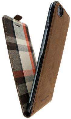 iMoshion Moyland Apple iPhone 6 Plus/6s Plus Flip Case Bruin