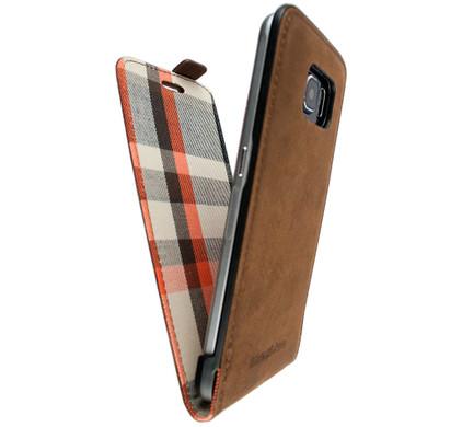 iMoshion Moyland Samsung Galaxy S6 Flip Case Bruin