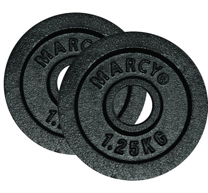Marcy Plates 2x 1,25 kg Black