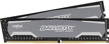 Crucial Ballistix Sport 8 GB DIMM DDR4-2400 2 x 4 GB