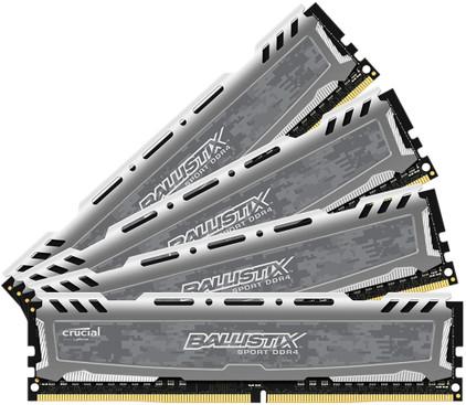 Crucial Ballistix Sport LT 32 GB DIMM DDR4-2400 4 x 8 GB