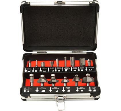 Powerplus 15-delige Frezenset  KRT060185