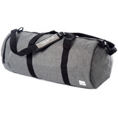 Spiral Duffel Crosshatch Grey