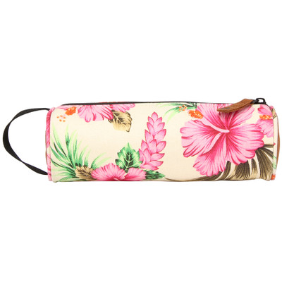 Image of Mi-Pac Pencil Case Tropical Hibiscus Natural