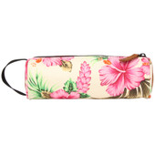 Mi-Pac Pencil Case Tropical Hibiscus Natural