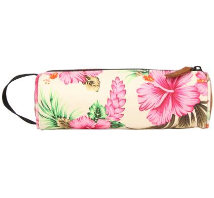 Mi-Pac Pencil Case Tropical Hibiscus Natural