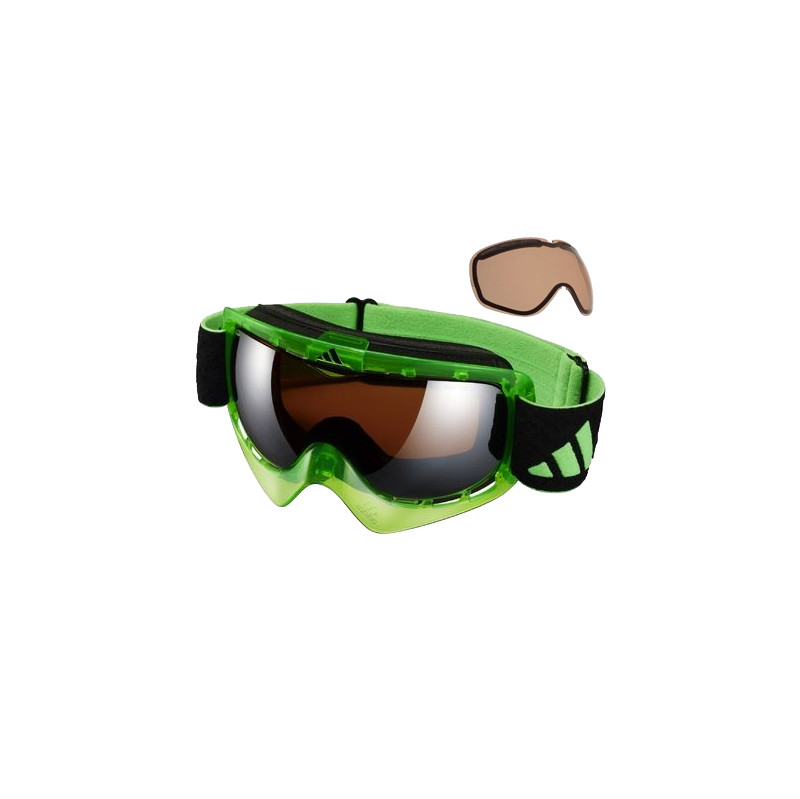 Adidas ID2 Pro Goggle Neon Groen-LST Bright + LST active