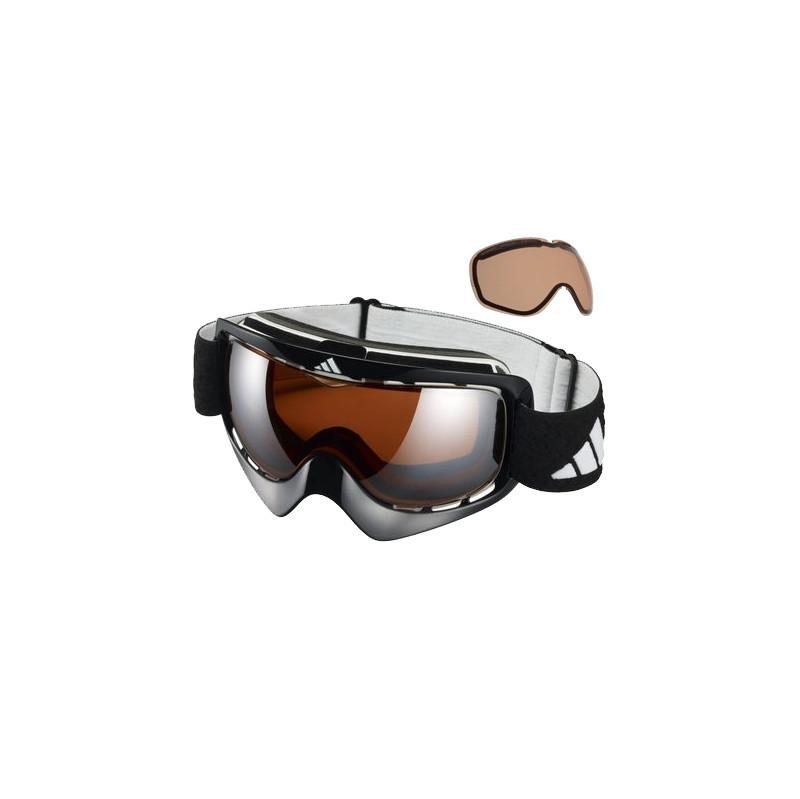 Adidas ID2 Pro Goggle Glanzend Zwart-LST bright + LST active