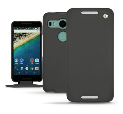 Noreve Tradition Leather Case LG Nexus 5X Zwart