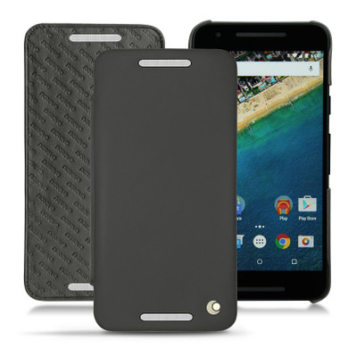 Noreve Tradition D Leather Case LG Nexus 5X Zwart