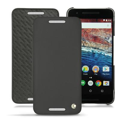 Noreve Tradition D Leather Case Huawei Nexus 6P Zwart