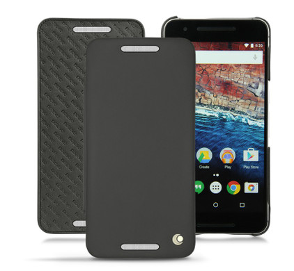 Noreve Tradition D Leather Case Huawei Nexus 6P Zwart