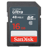 Sandisk SDHC Ultra 16GB 48MB/s Class 10