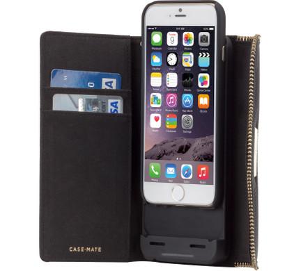 Case-Mate Rebecca Minkoff Charging Wallet Case Apple iPhone 6/6s Zwart