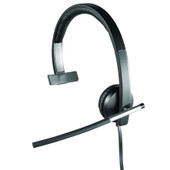 Logitech USB Headset Mono H650e Zwart