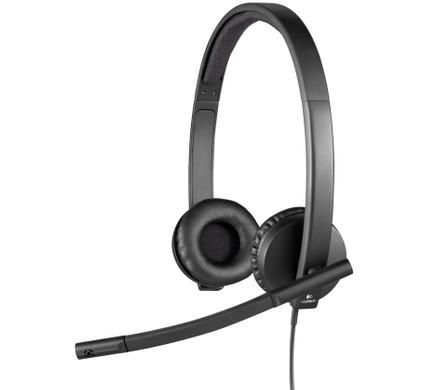 Logitech USB Headset Stereo H570e Zwart