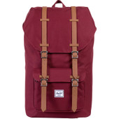 Herschel Little America Windsor Wine/Tan PU
