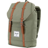 Herschel Retreat Deep Litchen Green/Tan PU