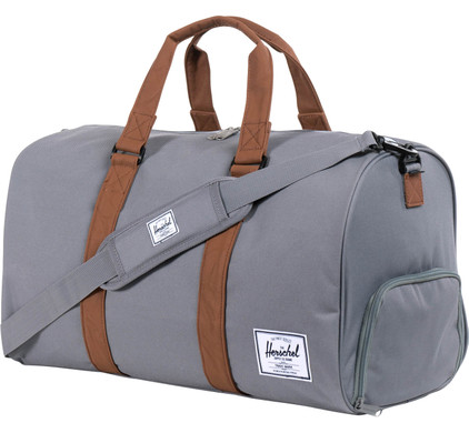 Herschel Novel Grey/Tan PU