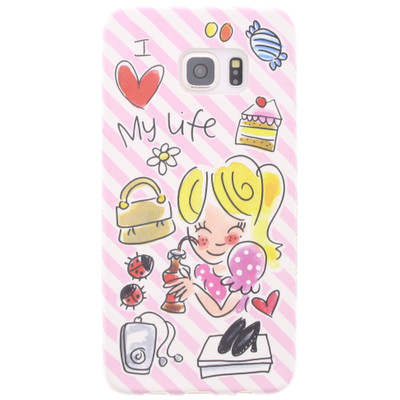 Image of Blond Amsterdam I Love My Life Samsung Galaxy S6 Roze