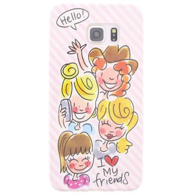 Image of Blond Amsterdam I Love My Friends Samsung Galaxy S6 Edge Plus Roze