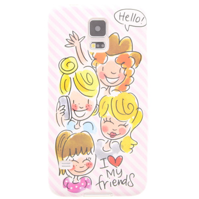 Image of Blond Amsterdam I Love My Friends Samsung Galaxy S5 Roze