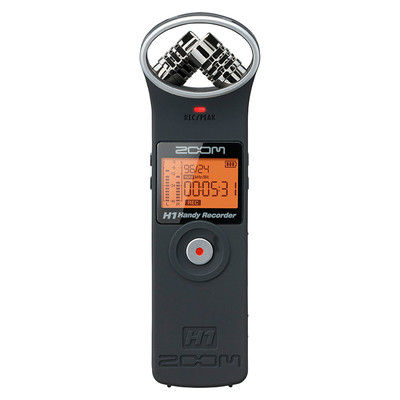 Image of Zoom H1 Handy Audio Recorder Matte Black