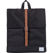 Herschel City Mid-Volume Black/Tan PU