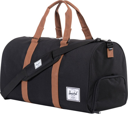 Herschel Novel Black/Tan PU