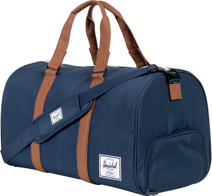 Herschel Novel Navy/Tan PU