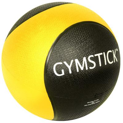 Gymstick Medicine bal - 1 kg - Geel / Zwart