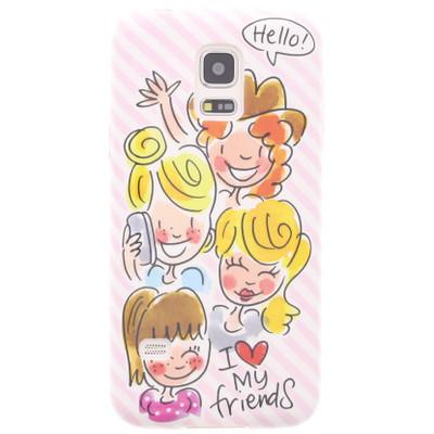 Image of Blond Amsterdam I Love My Friends Samsung Galaxy S5 Mini Roze